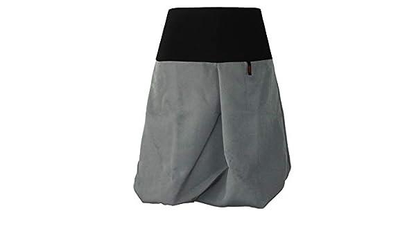 dunkle design Falda tipo globo, para mujer gris XXX-Large 50 ...