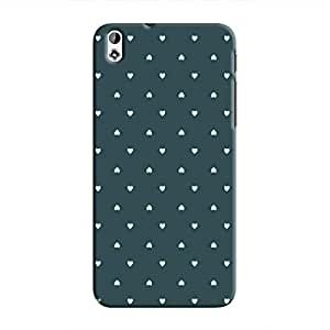 Cover It Up - Tiny Green Hearts Desire 816Hard Case