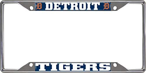 - FANMATS MLB - Detroit Tigers License Plate Frame