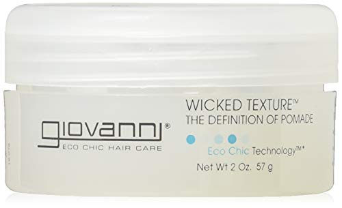 Giovanni Wicked Wax Texture Styling Pomade, 2-Ounce