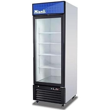 Amazon Brand New Commercial 2 Glass Door Refrigerator Appliances