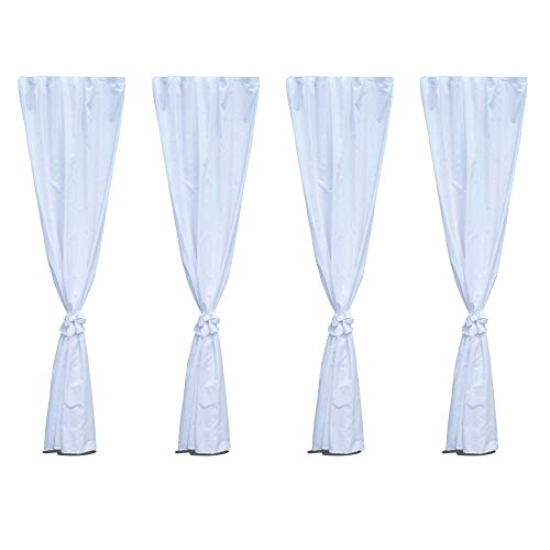 Canopy Leg Drapes (80″ x 96″)CANOPY NOT INCLUDED These are accessories that attach to a canopy. For Sale