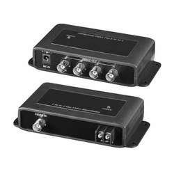 1 In/4 Out Video Distribution Amplifier 1 Input to 4 Output Video BNC Splitter