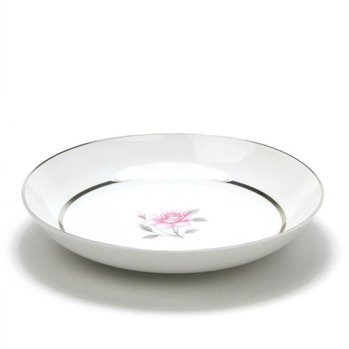 Pink Rose Design by Momoyama, China Coupe Soup Bowl