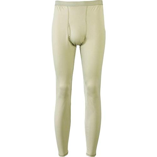 GI ECWCS Gen lll Level 1 Underwear Bottom Sand Polartec Power dry Silkweight (Medium Long)