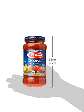 Amazon.com : Barilla Traditional Pasta Sauce, 24 oz : Grocery & Gourmet Food