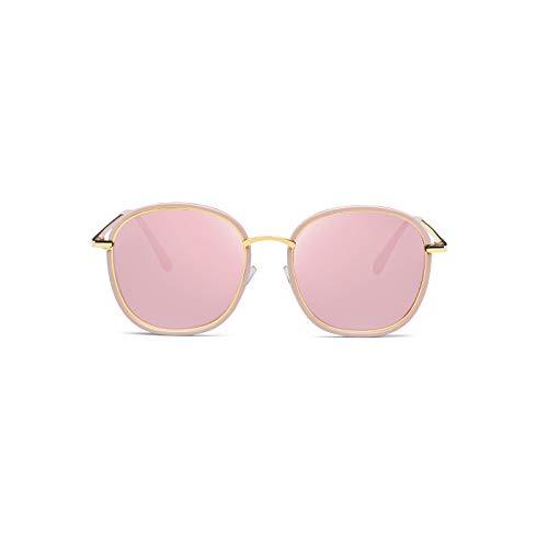 Générique Lunettes Femmes Gris Uv Étoiles Sunglasses Rétro Rouge Marée Pink Soleil couleur Foncé Barbie Net Nouvelles De Coréenne X6xrqwvX