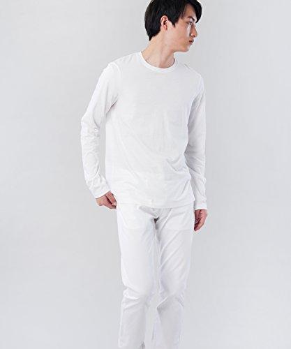 Exchange Lunghe Armani A Maniche Maglia Bianco white 1100 Uomo dwwqBIU