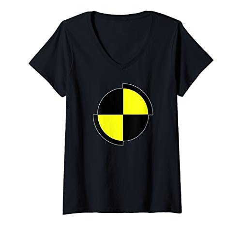 Womens Costume Shirts | CRASH TEST DUMMY For Halloween or Party V-Neck T-Shirt]()