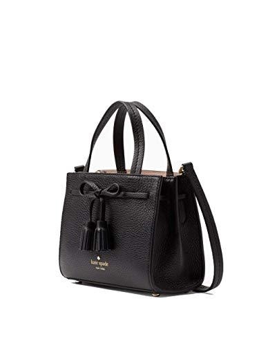 Kate Spade Hayes Mini Leather Satchel Women's Handbag (Black) (Kate Spade Frauen)