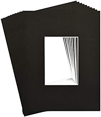 20 11x14 4-ply mat mattes WHITE for 5x7 Photo picture