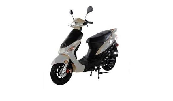 Amazon com: Taotao 50cc Gas Street Legal Scooter ATM50-A1