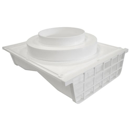 - Lambro Industries 164W Plastic Double Sided Under Eave Vent, 4 in Or 6 in, White-272282, White