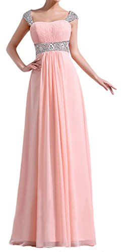 Eyekepper Graceful Floor Length Chiffon Bridesmaid Evening Pregnant Dresses