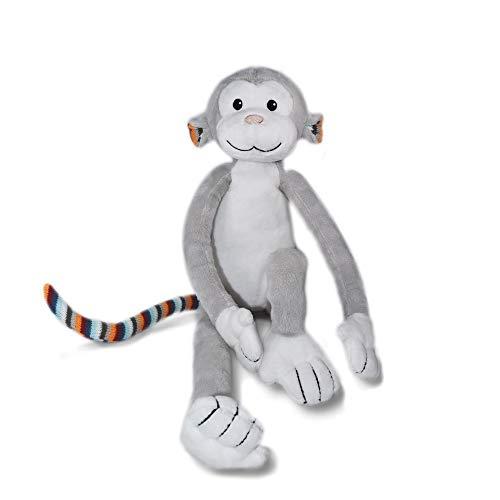 Zazu Kids Nightlight Plush Toy - Max The Monkey Stuffed Animal Night Light with Soothing Sound Machine for Babies & Toddlers, Soft, Washable, Portable