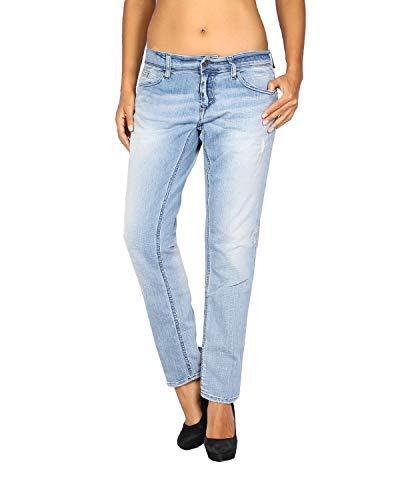MELTIN'POT - Women's Jeans Maelle - Skinny Loose Fit - Blue, W28