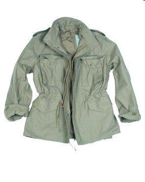 Originale Teesar US giacca da campo M65 NYCO 4 colori - Verde oliv, S