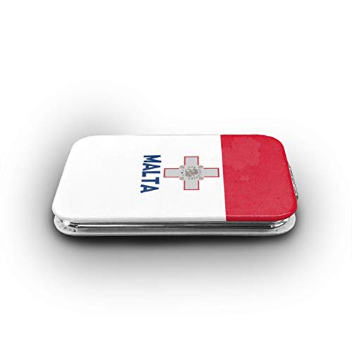 Cookfun Originality Malta Flag Makeup Mirror Mini Pocket Mirror -