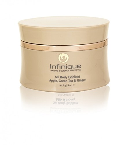 Infinique Sel Body Exfoliant Revitalizer - Infused with Apple, Green Tea and Ginger Extracts, 5 oz (Peel Green Body Apple)