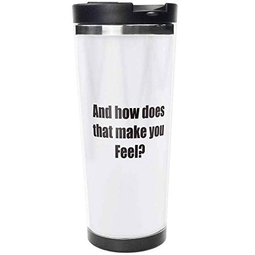 In Treatment Stainless Steel Travel Mug, Insulated 15oz Coffee Tumbler
