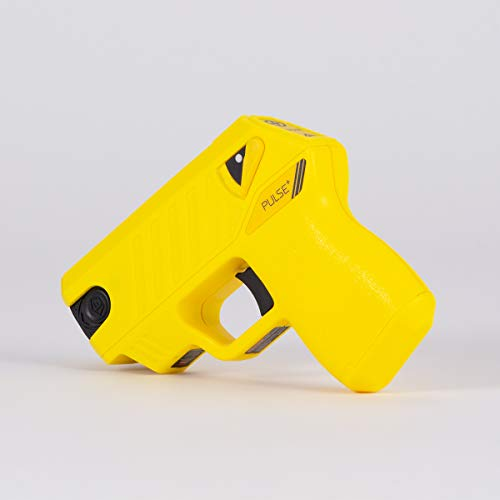 Taser Pulse+ Self-Defense Tool with Noonlight Integration, Yellow