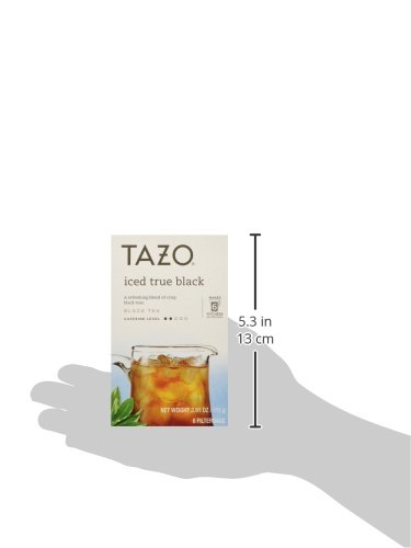 Tazo Iced True Black Filtered Tea - 6 Bags Per Box (Pack of 4) 3.91 oz by TAZO (Image #4)