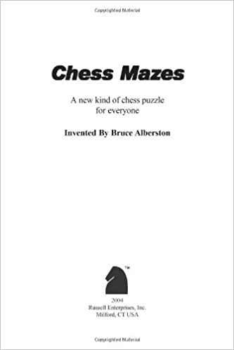 picture regarding Printable Chess Puzzles referred to as Chess Mazes: A Fresh new Type of Chess Puzzle for Everybody: Bruce