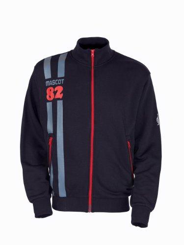 """Mascot Sweatshirt mit Reißverschluss """"Fundao"""", 1 Stück, 2XL, schwarz-blau, 50422-191-010-2XL"""