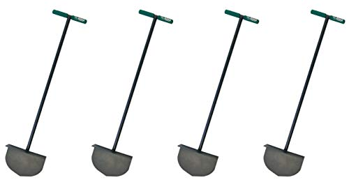 Bully Tools 92251 Round Lawn Edger with Steel T-Style Handle (Fоur Расk)