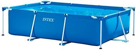 Intex Pack Piscina Small Frame 300x200x75 cm 3834 litros + ...