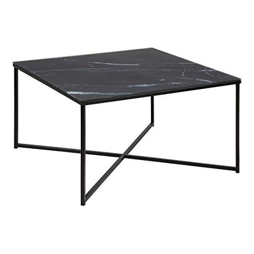 chollos oferta descuentos barato Amazon Brand Movian Rom Mesa de centro 80 x 80 x 45 cm negro
