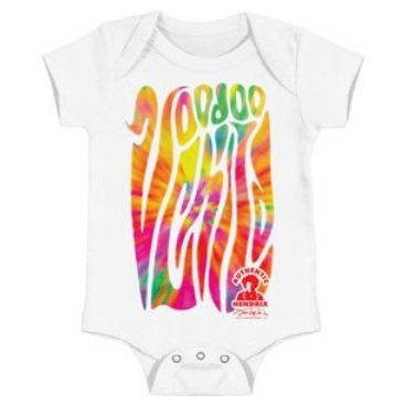 0ee8e7761 Amazon.com: Jimi Hendrix 'Voodoo Child - Rainbow' Infant Onesie (18 ...