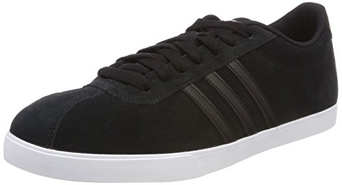 adidas Damen Courtset Fitnessschuhe Schwarz (Core Black/core Black/copper Metallic 0)