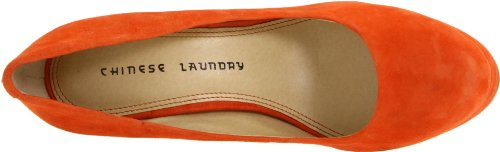 Chinese Laundry Womens Moving On Platform Pump Pumpkin tnz1n9814