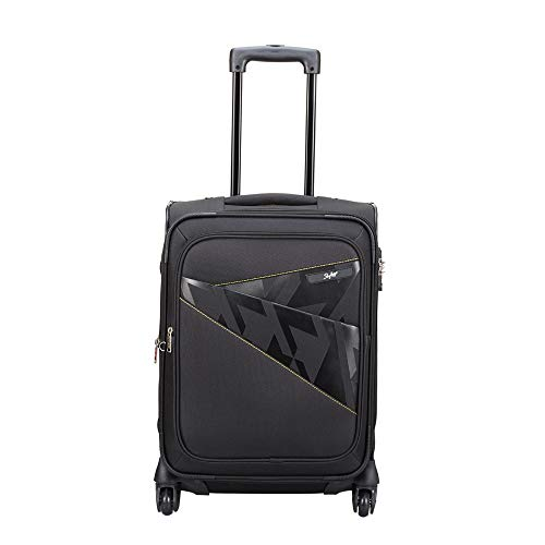 Skybags Footloose Wellington 56 cms Black Softsided Carry-On (STFWE56EBLK)