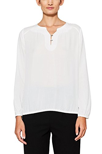 edc Blouse Off by Esprit Blanc 110 Femme White 7PSr7q