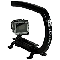 Cam Caddie 0CC-BUN-00CAM Scorpion EX Video Camera Stabilizing Handle with Smartphone & GoPro Compatible Mounts, Black