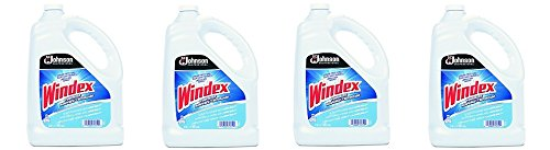 Windex 682252EA Powerized Formula Glass & Surface Cleaner, 1gal Bottle (4-(Pack))