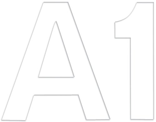 "Brand New Feltables 2"" Numbers & Letters 55/Pkg-White Brand New"