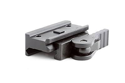 American Defense AD-T1-L STD Riflescope Optic Mount, Black by American Defense Mfg