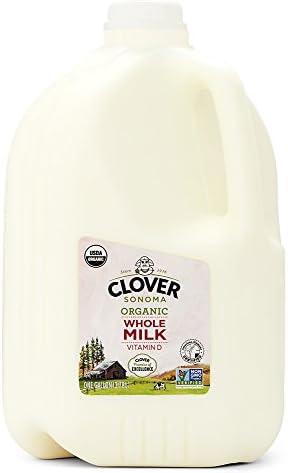 Clover Sonoma, Organic Whole Milk Gallon, 128 oz