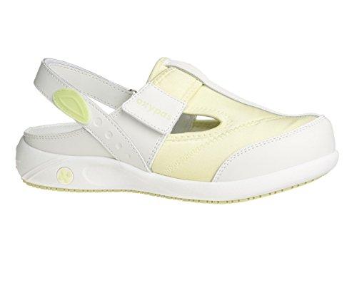 Oxypas Anais, shoes Femme - Blanc (lgn), 36 EU