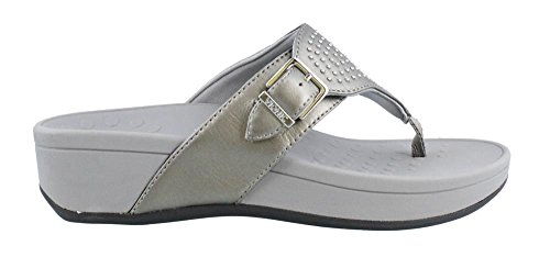 Vionic Women's Capitola Pewter Sheep 5 M US by Vionic