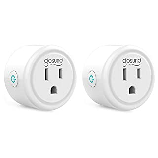 Smart Plug, TanTan WiFi Outlet Mini Socket Work with Alexa and Google Home, Remote Control, No Hub Required, Only Supports 2.4GHz Network, ETL FCC Listed (2 Pack)