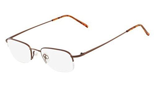 Flexon Flexon 607 Eyeglasses 218 Coffee 218 Demo 51 20 - Flexon Eyeglasses