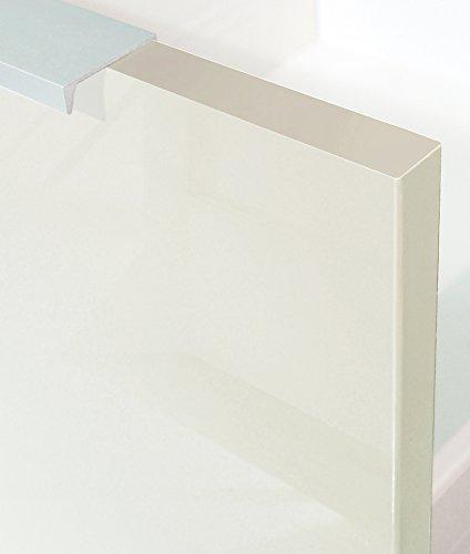 80/x 52/x 83/cm Pannelli di Particelle Avorio Lucido Berlioz Creations Subwoofer Basso di Cucina sottolavabo 80