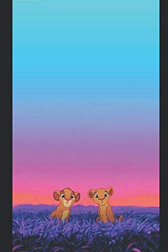 Journal: A lion king themed notebook journal for your everyday needs (Lion King Stationary)