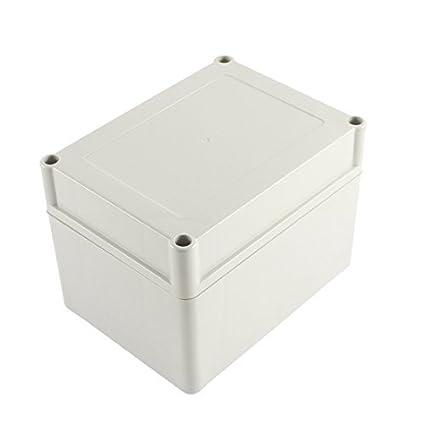DealMux Plástico eletrônico Projeto Caixa de junção Invólucro 134 x 100 x 103 milímetros