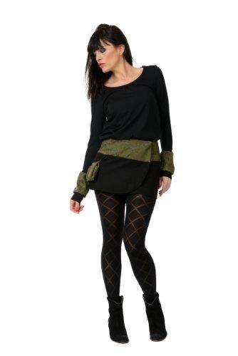 casual con mujer Elves larga Camisa de verdes manga bofetantes 3 de para 1HwzxtX