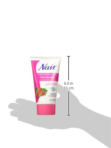 Amazon.com : Nair Hair Remover Bikini Cream With Green Tea Sensitive Formula 1.70 oz (Pack of 7) : Beauty